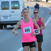 10K women's winner Lori Buratto (No. 486) of Spokane Valley.