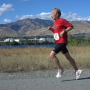 River Run athletes said they liked the views of the Columbia River and Wenatchee Foothills from the course.