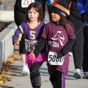 Turkey on the Run attracts adults and kids.