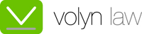 Volyn Law Logo for Coated Stock