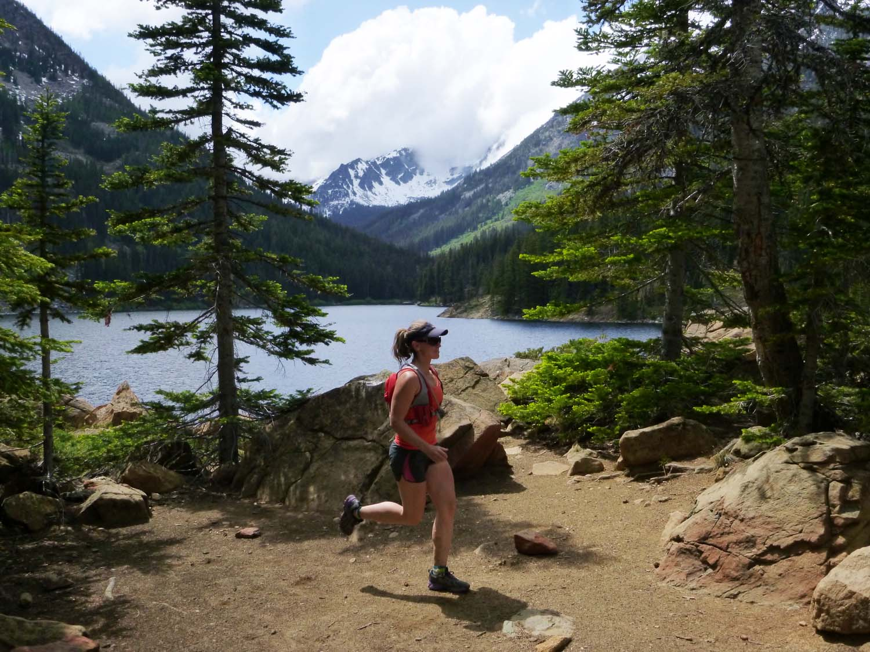 Eightmile lake trail run report run wenatchee for Devils lake oregon fishing
