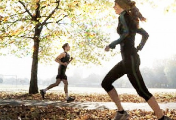 Runners can zone out, becoming oblivious to all around them.