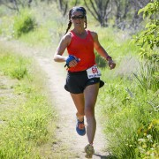 Jody Chinchen of Ellensburg leads the women's long-course division.