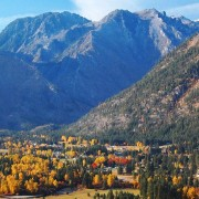 It's difficult to hold back running during the fall months in Leavenworth.